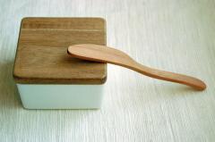 木のカトラリー ナイフバター