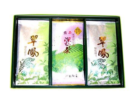 翠鳳・深むし茶 (平袋詰め合わせ)