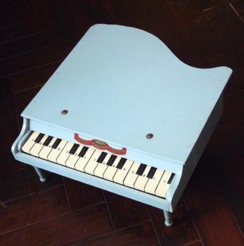ヴィンテージ トイピアノ T.J.ELY MFG カンパニー社製 水色