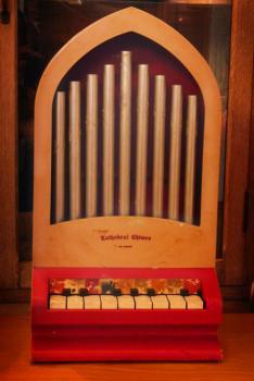 アンティーク カテドラル チャイム トイピアノ