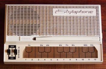 ヴィンテージ スタイロフォン 1970年 白 希少  箱・マニュアル付