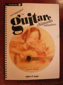 フランス童謡 ギター教則本 CD付き
