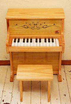 希少 Hering ヴィンテージ アップライト トイピアノ チェア付き