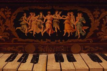 1900年 アンティーク シェーンハット トイピアノ