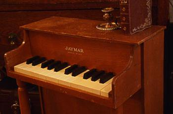 Jaymar アンティーク アップライト トイピアノ ブラウンウッド