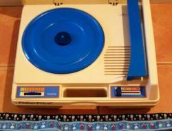 fisherprice フィッシャープライス レコードプレイヤー  ブルー