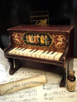 アンティーク シェーンハット トイピアノ 1900's