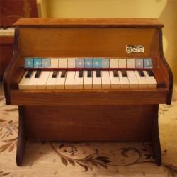 アンティーク Beilei トイピアノ 15key
