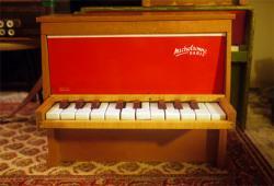 フランスアンティーク Michelsonne トイピアノ 20key