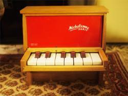 フランスアンティーク Michelsonne トイピアノ 13key  toy piano