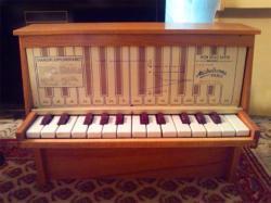 フランスアンティーク Michelsonne トイピアノ 25 key