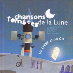 シャンソン トンベ ドゥ ラ リュヌ  空から落ちてきたお月さま 絵本+CD