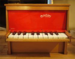 フランスアンティーク Michelsonne トイピアノ 20key  toy piano