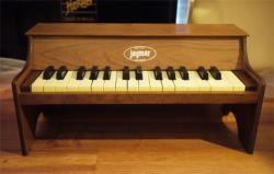 アンティーク JAYMAR 卓上 トイピアノ 30key  toy piano