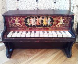 アンティーク シェーンハット トイピアノ 1900's  toy piano