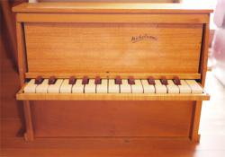 フランスアンティーク Michelsonne トイピアノ 25key   toy piano