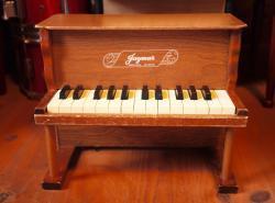 アンティーク Jaymar 卓上 アップライト トイピアノ 25key toy piano