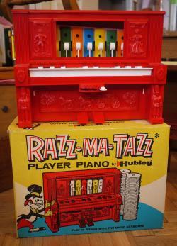 ヴィンテージトーイ RAZZ MA TAZZ  自動演奏ピアノ