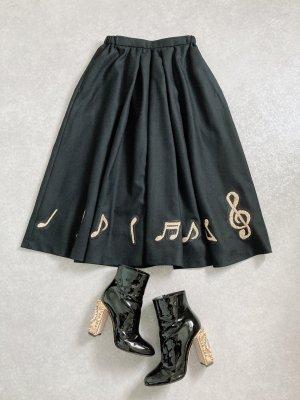 melodyウールスカート(ブラック)