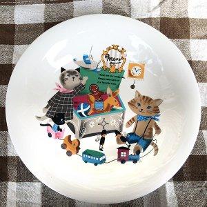 Meow Meow カレー&スープ皿