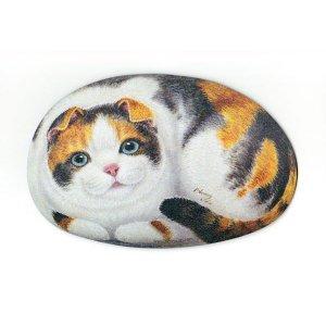 ヘンリーキャット(Henry Cats & Friends) シェイプドマウスパッド ヨーコ