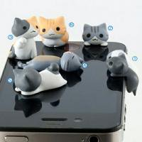 iphone防塵プラグ 6種