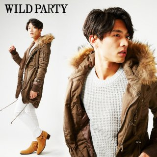 【先行販売】WILD PARTY  Fishtail Parka