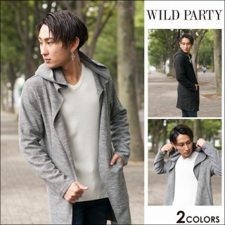 <img class='new_mark_img1' src='https://img.shop-pro.jp/img/new/icons20.gif' style='border:none;display:inline;margin:0px;padding:0px;width:auto;' />★70%OFF★WILD PARTY(ワイルドパーティ) フードコーディガン全2色