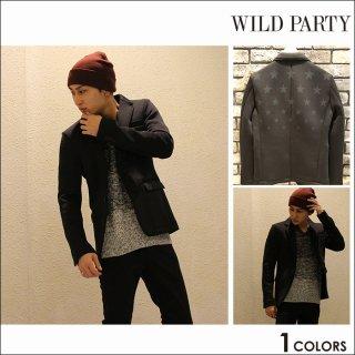 【WILD PARTY】STARポンチテーラード テーラード ジャケット ポンチ スター柄 メンズファッション