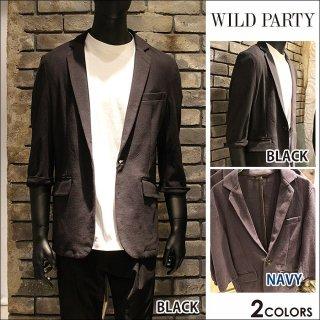 【WILD PARTY】七分袖カットジャケット