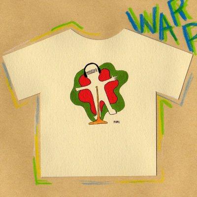 「WARP!」レゲエのイベントでいいプレイやパフォーマンスに対して指でGun shotサインを作り、祝砲を上げる感じで空に向け『Pow Pow Pow』と叫んだりするコール&レスポンスのことなんです。男性に人気のこのTシャツを着てガンフィンガーにチャレンジしてみよう♪
