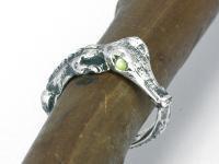 Baby croc ring