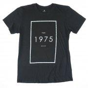 THE1975 ロゴ Tシャツ UK ブラック バンドTシャツ