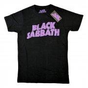 Black Sabbath ブラック・サバス ビンテージロゴ Tシャツ バンドT