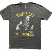 BRUCE LEE ブルース・リー JEET KUNE DO グレー Tシャツ
