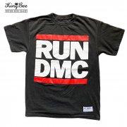 RUN DMC hiphop rundmc ビンテージ バンドTシャツ KingBee