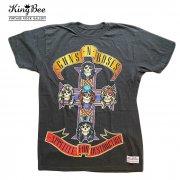 GUNS N' ROSES ガンズアンドローゼス APPETITE FOR DESTRUCTION ビンテージ バンドTシャツ KingBee