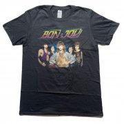 BON JOVI ボン・ジョヴィ TOUR 1984 ブラック Tシャツ バンドT