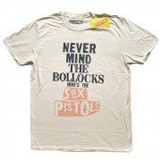 Sex Pistols セックス・ピストルズ NEVER MIND THE BOLLOCKS ベージュ Tシャツ