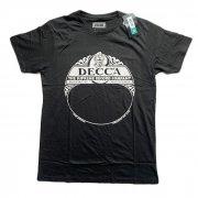 DECCA デッカ Tシャツ レーベルTシャツ 音楽レーベル 正規品 ロゴ Tシャツ