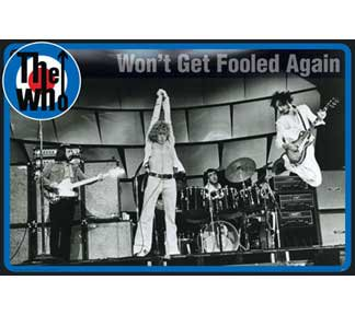 """The Who """"Won't Get Fooled Again"""" ポスター"""
