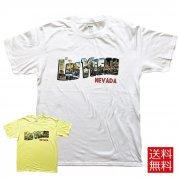 Tシャツ メンズ Las Vegas グラフィックTシャツ ビンテージデザイン
