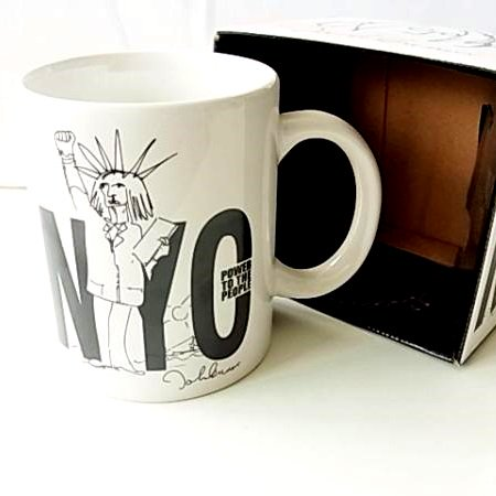 "【John Lennon/ジョン・レノン】""NYC""  マグカップ"