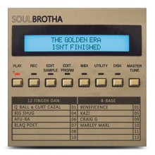 【LAST1SALE】【90's BoomBap / HI 】SOULBROTHA / The Golden Era Isn't Finished (LP)【ドイツ人ビートメイカー/サンプリング】