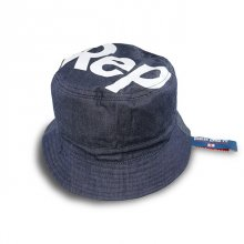 【REP DIG IT】SLANT LOGO BUCKET HAT