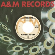 【7インチレコード】A. TA MARA & THE SEEN - AFFECTION / B.DONALD BYRD - YOU AND MUSIC【限定盤】