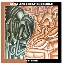 【LAST1SALE】【アフロビート】Alma Afrobeat Ensemble/It's Time-LP-(Afrobeat LP+Download Card)