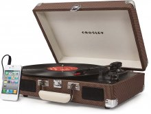 【レコードプレーヤー】Crosley / Cruiser Portable Turntable(Tweed)
