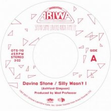 【初回生産限定】【極上Loversカバー7インチ】Davina Stone/Mad Professor - Silly Wasn't I/Sweet Cherry