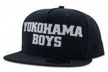 【キャップ】「YOKOHAMA BOYS 」SNAP BACK CAP [ネイビー/ロゴ白]